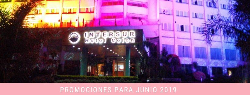 PROMO HOTEL INTERSUR COLON - JUNIO