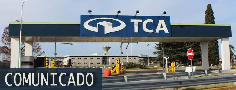 Comunicado TCA - Paro de Actividades SENASA